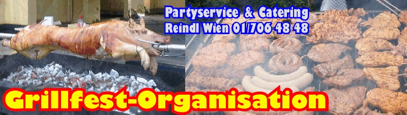 Grillfest Organisation Catering Partyservice Grillcatering Wien
